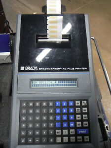 Brady Label Maker Bradymarker Xc Plus Printer With Extra Cartridges