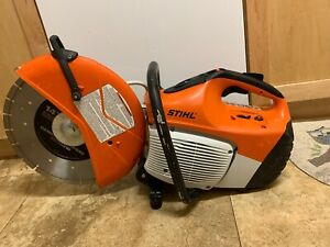 Stihl Ts 420 Concrete Cut off Saw With 14 New Blade