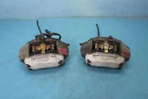 2004 Mercedes benz Cl500 W215 4 Front Right Left Brake Calipers 2pc Pair Oem