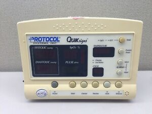 Welch Allyn Protocol Quik Signs 52000 Series Vital Signs Digital Monitor O6785