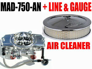 Mighty Demon Mad 750 An 6 Line Kit Fuel Gauge Demon Air Cleaner And Demon Hat