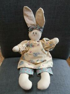 Handmade Primitive Spring Easter 16 Bunny Girl Rabbit Doll Dress Bloomers