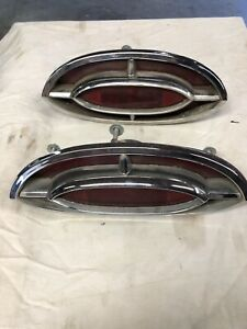 1962 Oldsmobile 98 Taillights Left And Right Oem