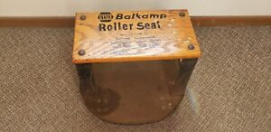 Vintage Balkamp Napa Roller Seat Shop Stool Creeper