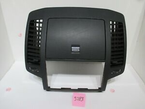 2004 2006 Nissan Altima Dashboard Dash Radio Bezel Trim Panel Lid 04 05 06 Black