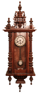 Antique Germany Wooden Wall Clock