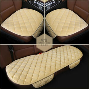 3pcs Car Seat Cushion Therapy Massage Padded Bubble Foam Chair Auto Pad Cover