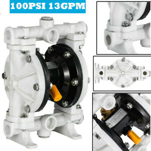 1 2 Polypropylene Air operated Double Diaphragm Pump 13 Gpm 150f 66605j 3eb