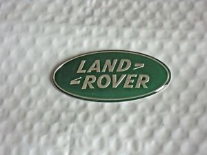 New Land Rover 87mm Green Oval Grille Tailgate Emblem Range Rover Free Ship