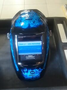 Miller Blue Rage Digital Performance Auto Darkening Welding Helmet 282001