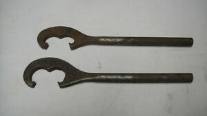 Snap On Wa10 Wa11 Tie Rod Toe Wrench Wheel Alignment Tools Vintage 60 S Set