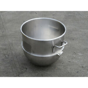 Hobart Vmlhp40 80 40 Stainless Steel Mixer Bowl Used Excellent Condition