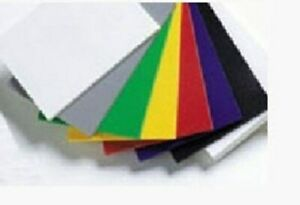 Styrene Sheet High Impact Formable Printable White Opaque 69 Sheets 125 x32x183