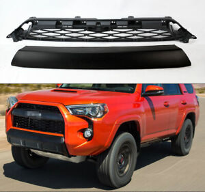2 Piece Mesh Replacement Trd Pro Style Grills For Toyota 4runner 14 19