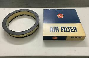 Ac Delco Nos Air Cleaner Element Filter A85c 5645342 Nos Cadillac Olds Buick 442