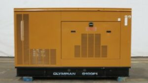 1999 100 Kw Caterpillar G100f1 Natural Gas Generator 227 Hours