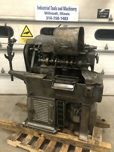 Brown Sharpe 00g Small Auto Screw Machine Metal Lathe Flat Belt Running Vintage