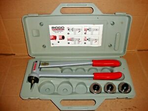 New Ridgid 30032 S7 Tube Expander Kit W 3 Heads