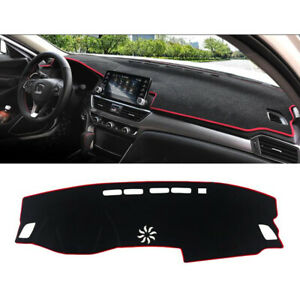 Fit For Honda Accord 2018 19 Inner Dashboard Dash Mat Dashmat Sun Cover Pad Red