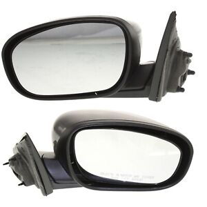 Power Mirror For 2005 2010 Chrysler 300 Manual Fold Heated Paint To Match 2pc