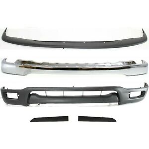 New Bumper Face Bar Kit Front Chrome For Toyota Tacoma To1002174 52101ad030