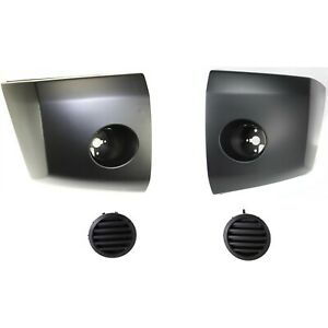 Bumper Kit For 2004 2007 Nissan Titan Front Left And Right 4pc