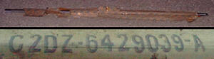 1962 Ford Falcon Ranchero Nos Stainless Deluxe Package Trim C2dz 6429039 a