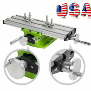 Usa Ship Milling Machine Cross Sliding Table Vise For Diy Lathe Bench Drill