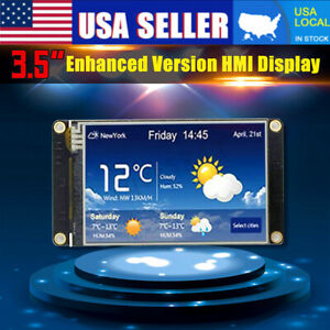3 5 Nextion Enhanced Hmi Intelligent Smart Usart Serial Lcd Module Display Us