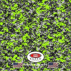 Digital Lime Green Camo Decal Wrap Vinyl 52 X15 Truck Print Real Camouflage