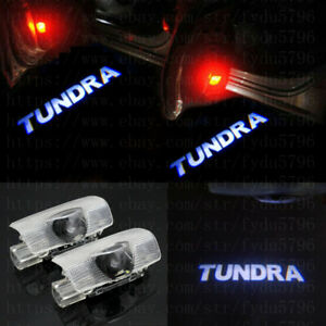 2x Car Door Light Ghost Projector Laser Logo Lamps Hd For Toyota Tundra 2008 17