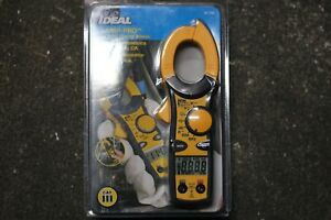 Ideal 61 744 Clamp pro Clamp Meter 600 Amp Brand New Sealed