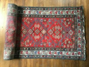 Antique Handmade Persian Rug Runner 15ft X 3 4ft 2500 Value Professionall