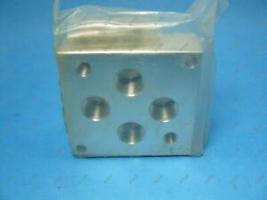 Daman Ad05hspb12p Valve Subplate Nfpa T3 5 1 d05 High Flow Backported 3 4