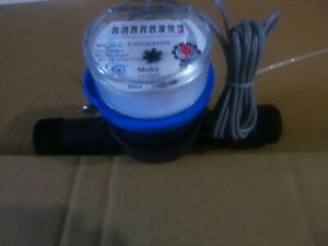 Nmt 3 4 Versamag Polymer Cold Water Meter 1 Pulse Per Gallon Max Flow 20 Gpm