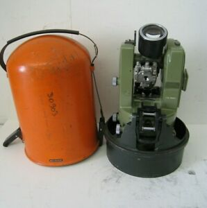 Wild Heerbrugg Theodolite Switzerland T16 Survey Transit Equipment Vintage