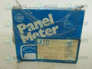 General Electric 250 2 Panel Meter New In Box
