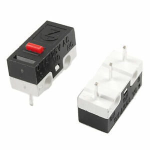 Ac 125v 1a 1no 1nc Spdt Momentary Push Button Miniature Micro Switches 5 Pcs