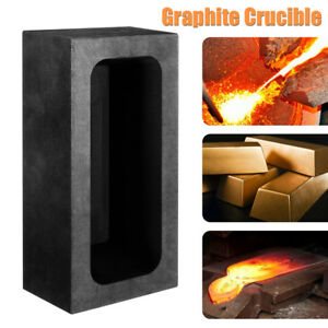 Pound Rectangle Copper CU Graphite Ingot Mold For Melting Casting Refining New
