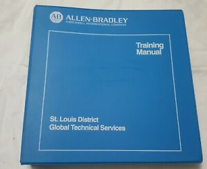 Allen bradley 1747 pa2e Series C Programming Software Training Manual 1993