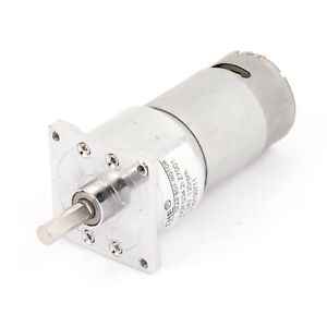 Dc 24v 120rpm High Torque Electric Low Speed Solder Cylindrical Gear Box Motor