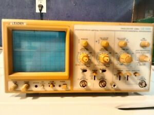 Leader Ls 1020 20 Mhz 2 Channel Oscilloscope
