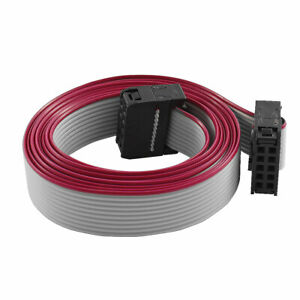 Fc10p 100cm 10pin Hard Drive Extension Wire Flat Ribbon Cable For Motherboard