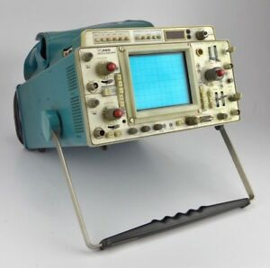 Tektronix 465 Oscilloscope With Factory installed Dm44 Multimeter