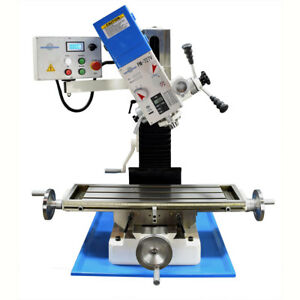 Pm 727 v Vertical Bench Top Milling Machine Variable Speed Free Shipping
