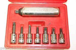 Snap on Tools 3 8 Drive 8 Piece Impact Driver 208epit