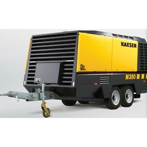 New Kaeser M350 Towable Diesel Air Compressor Tier Iv Final Kaeser M350