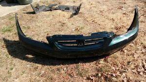 Aftermarket Front Bumper 2001 2002 Honda Accord Coupe D87p Dark Emerald Pearl