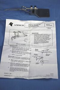 New Amsco Steris Skeletal Traction Unit Orthographic 2 Surgical Table Warrant