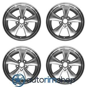 Ford Mustang 2005 2009 17 Factory Oem Wheels Rims Set